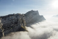 Switzerland, mountains and fog - LHPF00126
