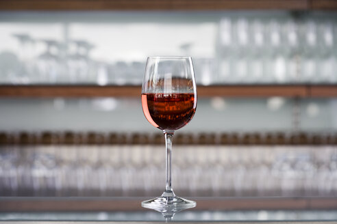 Glass of red wine - LUXF01235