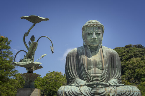 Japan, Kamakura, The Great Buddha of Kamakura - EPF00494