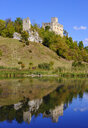 Germany, Bavaria, Swabia, Donau-Ries, Niederhaus Castle in the Noerdlinger Ries near Ederheim - SIEF08040