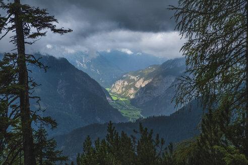 Austria, Salzburg State, Berchtesgaden Alps, View from Persailhorn - HAMF00525