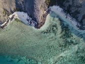Indonesia, Lombok, Aerial view of beaches from above - KNTF02145
