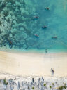 Indonesia, Lombok, Aerial view of beach - KNTF02195