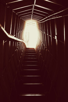Steps rising to daylight at the end of tunnel - INGF03089