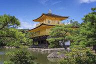 Japan, Kyoto, Kinkaku-ji, Kinkaku, Golden pavillon and pond - EP00501