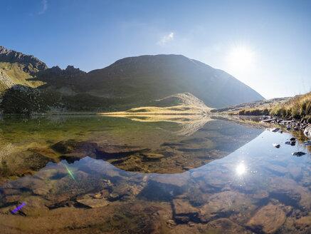 Italy, Lombardy, Bergamasque Alps, Laghetto Vivione - LAF02116