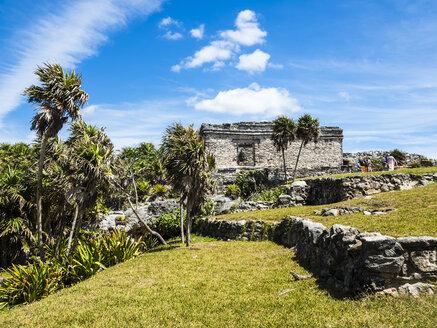 Mexico, Yucatan, Riviera Maya, Quintana Roo, Tulum, Archaeological ruins of Tulum - AMF06089
