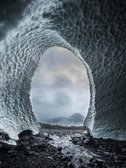 Scenic view of ice cave at North Cascades National Park - CAVF51070