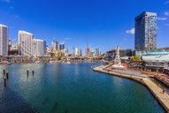 Australia, New South Wales, Sydney, city view, promenade - THAF02301