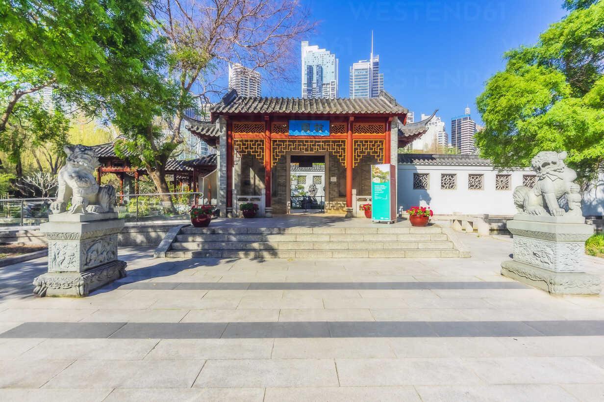 Australia, New South Wales, Sydney, Chinese garden - THAF02310 - Thomas Haupt/Westend61