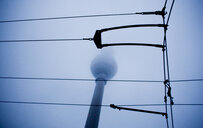 Berlin television tower in mist - INGF04239