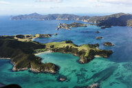 Scenic view Bay of Islands, North Island, New Zealand - HOXF04163