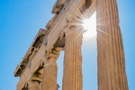 Low angle view of a historical old building in Athens - INGF05247