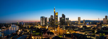 Cityscape panorama of Frankfurt - INGF05270