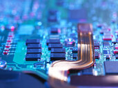 Close up of a laptop mother board - ABRF00227