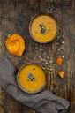 Pumpkin soup with pumpkin and sunflower seeds - LVF07504