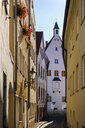Germany, Bavaria, Augsburg, alley and houses - SIEF08109