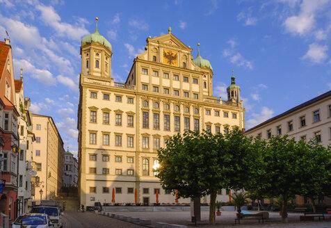Germany, Bavaria, Augsburg, Townhall at Elias-Holl-Square - SIEF08112