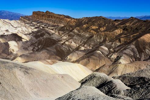 USA, Californien, Death Valley, Death Valley National Park, Zabriskie Point - FCF01522