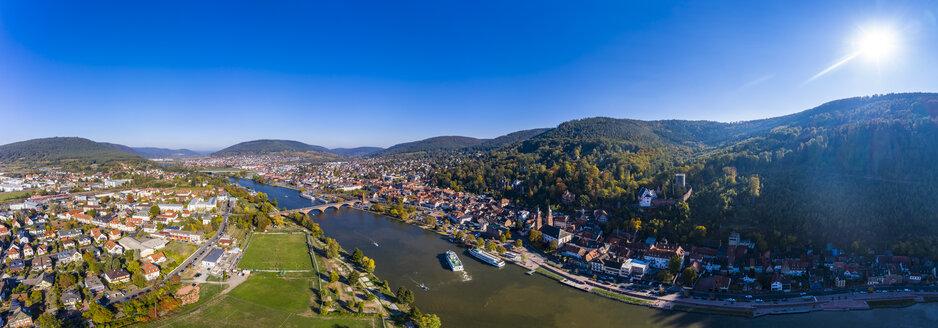 Germany, Bavaria, Miltenberg, river Main, panoramic view - AMF06141