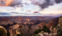 USA, Arizona, Grand Canyon National Park, Grand Canyon in the evening - FCF01570