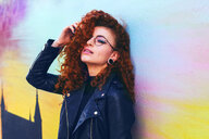 Young and cool redhead woman - INGF05772