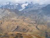Border region Italy Switzerland, mountain landscape at Piz Umbrail - LAF02157