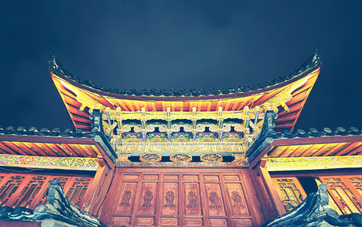 Traditional chinese roof. - INGF06440
