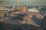 High angle scenic view of rock formations at Grand Canyon National Park - CAVF53984