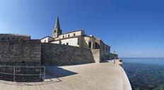 Croatia, Istria, Porec, Old town, Euphrasian Basilica, promenade - WWF04441