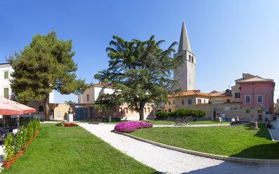 Croatia, Istria, Porec, Old town, Euphrasian Basilica - WWF04447