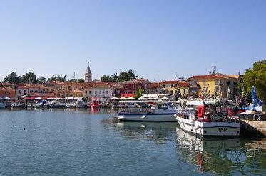 Croatia, Istria, Novigrad, harbour - WWF04459