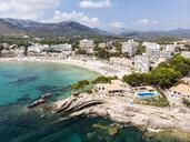 Spain, Balearic Islands, Mallorca, Region Calvia, Costa de la Calma, Peguera, Cala Fornells - AMF06172