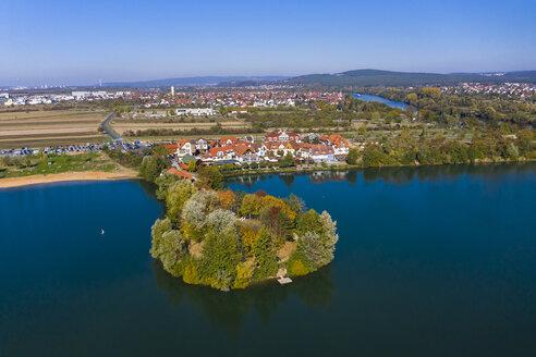 Germany, Lower Franconia, Miltenberg, Niedernberger Seenplatte, Niedernberg, Sea Hotel - AMF06193