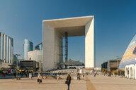 Grande Arche in La Defense district, Paris, Ile-de-France, France - AURF07749