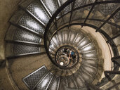 Staircase in Triumphal Arch, Paris, France - AURF07758