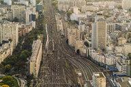 View from Montparnasse Tower, Paris, France - AURF07761