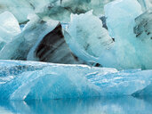 Ice chunks at Glacier Lagoon, Southern Iceland, Iceland - AURF07833