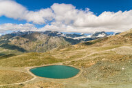 Lake among mountains, Zermatt, Valais, Switzerland - AURF07842