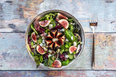 Mixed salad with figs - SARF03969
