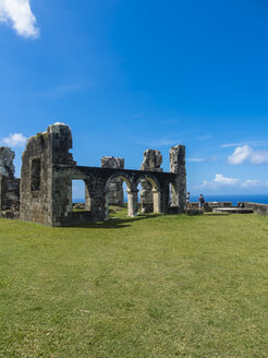 Caribbean, Lesser Antilles, Saint Kitts and Nevis, Basseterre, Brimstone Hill Fortress - AMF06209