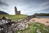 United Kingdom, Scotland, Sutherland, Ardvreck Castle at Loch Assynt - ELF01947