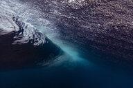 Maledives, Under water view of wave, underwater shot - KNTF02306