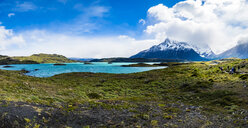 Chile, Patagonia, Torres del Paine National Park, Lago Nordenskjold - AMF06268