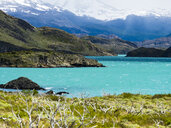 Chile, Patagonia, Torres del Paine National Park, Lago Nordenskjold - AMF06274