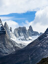 Chile, Patagonia, Torres del Paine National Park, Cerro Paine Grande and  Torres del Paine - AMF06293