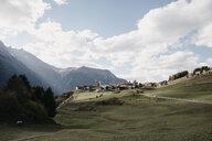 Switzerland, Engadine, mountain village - LHPF00157