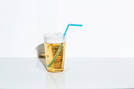 A drink on a table against a white background - INGF07960