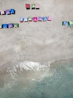 Indonesia, Bali, Karangasem, Aerial view of virgin beach - KNTF02399