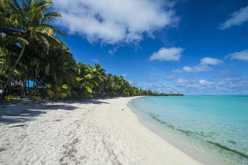 Cook Islands, Rarotonga, Aitutaki lagoon, beach - RUNF00277
